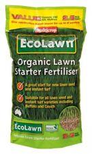 EcoLawn: Organic Lawn Starter Fertiliser 2.5kg Multicrop NASAA Certified Turf