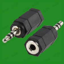 1x 3.5mm Female Plug to 2.5mm Male Jack Stereo Adaptor Converter, Nokia Sony etc