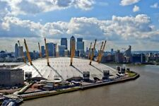 O2 Arena River Thames Canary Wharf London Docklands Skyline Photograph Picture