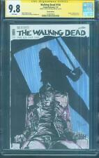 Walking Dead 150 CGC 9.8 SS Dunn Original art Issue 33 2nd Print Variant sketch