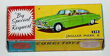 Reprobox Corgi toys nº 238-Jaguar Mark x