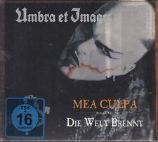 Umbra et Imago/MEA CULPA-le monde est en feu-CD + DVD (Nouveau! neuf dans sa boîte)