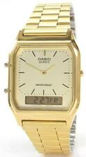 Casio Gold Plated Case Unisex Wristwatches