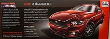 AUTO WORLD 1:18 SCALE DIECAST METAL RACE RED 2015 FORD MUSTANG GT