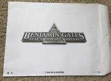 Photo d'exploitation Lobby card 2007 BENJAMIN GATES TEMPLIERS JEU 6 PHOTOS 2