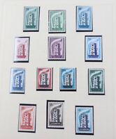 Europaunion Cept 1956 bis 1976 postfrische Sammlung mit allen Spitzen in 2 Alben