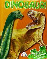 Dinosauri. Libro puzzle. 5 puzzle
