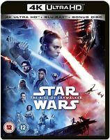 Star Wars The Rise Of Skywalker - 4K UHD Ultra HD + Blu-ray + Bonus - New Sealed