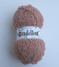 TEDDY King Cole Cuddles Chunky Knitting Yarn * Wool * (300) * 50g Ball *