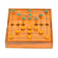 Nine Men's Morris Strategy Game, Large5.35 Inches