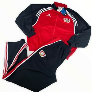 Adidas Trainingsanzug Bayer Leverkusen Gr. 10 XL 2001 vintage NEU Hose + Jacke