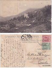 # GIARDINO ALPINO ROSTANIA 1910 - PREMIATO ESPOSIZ. INTERNAZ. TORINO