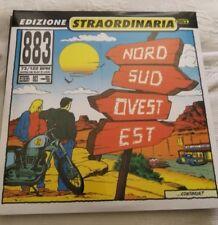 883 Max Pezzali Nord Sud Ovest Est (LP) Vinile Rosso Edizione Limitata Numerata!