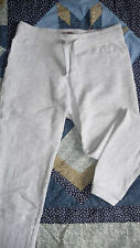 PANTALON JOGGING SPORT GRIS CLAIR FILLE 9/10 ANS  marque MANGO