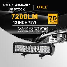 "12"" 72W 12V Car CREE LED Light Bar Combo Offroad Driving Lamp STV UTE 4WD #U2Y"