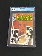 The New Mutants #26 9.2 CGC NM- 1st Full Appearance Legion 1985 FX Show Marvel