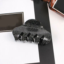 1Pc Women Glitter Acrylic Large Hair Claw Shiny Barrette Crab Hair Clip 8.5cm