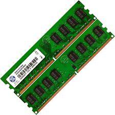 Memoria Ram 4 Asus Motherboard Desktop P5GC-MX R3 P5GC-MX/1333 2x Lot DDR2 SDRAM