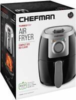 Chefman 2.1qt Analog Air Fryer - Black/Silver