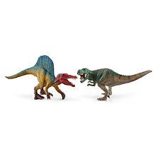 Schleich Spinosaurus und T-rex klein 41455