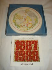 Wedgwood England 1986 Children's Nursery Rhymes 19cm Wall Plaque Queen Of Hearts