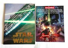 STAR WARS THE FORCE AWAKENS JAPAN MOVIE BOOK Program & Newsweek Special (r)