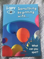**NEW PB** i-SPY Something Beginning with: What Can You Spot? by i-SPY
