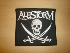 ALESTORM - PIRATE FLAG LOGO Embroidered PATCH Korpiklaani Finntroll Ensiferum