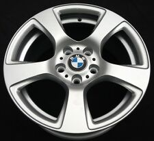 "Genuine rénové 17"" BMW Série 3 E90 E91 E92 E93 5 Spoke 157 roue en alliage #1"