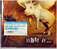 Mr. BIG Paul GILBERT What If JAPAN 2 180G Vinyl LPs + CD 2,000 w/POSTER BONUS Tr