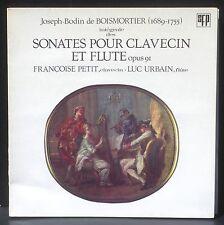 Bodin de Boismortier Sonates op 91 Luc Urbain Françoise Petit LP EX+, CV VG++