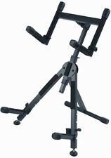 Quik Lok Bs-625 Fully Adjustable A-Frame Upgraded Amplifier Stand