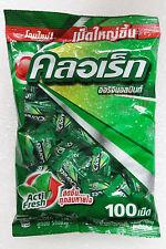 Clorets Actizol Plus Cool Mint Candy Flavored Freshness Fresh Breath 280g.