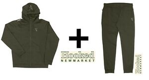 Fox Collection Green & Silver Lightweight Hoody & Jogger Combo **ALL SIZES**