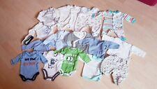 Baby Bekleidungspaket Junge Gr. 42 bis kleine 50 Frühchen 15 Teile