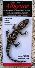 NEW! ALLIGATOR CROCODILE COLLECTIBLE WATERPROOF REFERENCE FIELD GUIDE TAXIDERMY