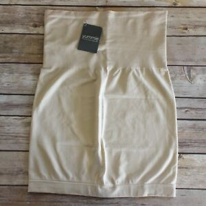 Yummie by Heather Thomson April Shaping Skirt Slip Size M/L Nude NEW