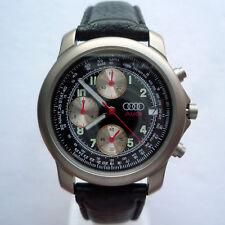 Audi Classic RS Line Racing Motorsport Titanium Car Accessory Watch Chronograph