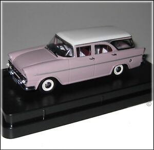 Holden EK Special Wagon White And Cameo Beige TRAX 1:43 Diecast Model Car TR88B