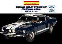 FORD MUSTANG SHELBY GTO 500  1967  ALTAYA ESCALA 1/43 AMERICAN CARS MUSCLE CARS