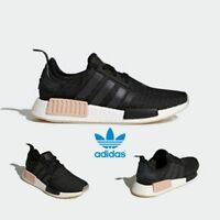 Adidas Original NMD R1 Runner Boost Shoes Running Black  White CQ2011 SZ 4-11