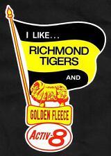 RICHMOND & GOLDEN FLEECE Vinyl Decal Sticker PETROL PROMO OIL afl vfl THE TIGERS