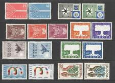 More details for 1957 europa sets complete inc luxembourg. mnh. cat approx £335 as singles
