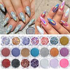 BORN PRETTY Nail Glitter Powder Holographics Mirror Nail Art Pigment Decoration