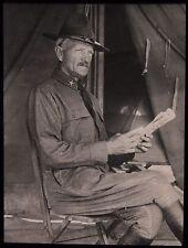 Glass Magic Lantern Slide AMERICAN MAJOR GENERAL JOHN PERSHING WW1 PHOTO USA