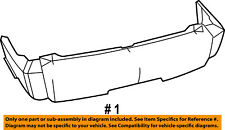 Dodge CHRYSLER OEM 07-11 Nitro Rear Bumper-Cover 68003899AA