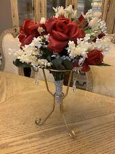 Wedding Bride Bridal Bouquet Centerpiece Keepsake Stand Reception Display