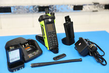 Motorola APX6000XE  VHF  FPPw/charger, antenna, Holster, battery BLK/GRN
