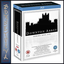 DOWNTON ABBEY -SERIES 1 2 3 4 5 & 6 PLUS SPECIALS & FINALE **BRAND NEW BLURAY**