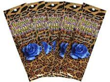 5 Packets of Ultimate DANGEROUS OBSESSION Hot Tingle Bronzer Tanning Lotion